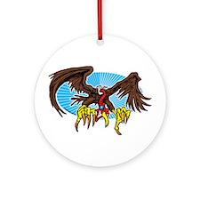 Vulture Attack Ornament (Round)