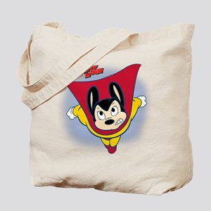 Mighty Mouse12BL Tote Bag