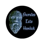 "Socrates 3.5"" Button (100 pack)"