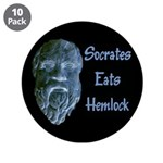 "Socrates 3.5"" Button (10 pack)"
