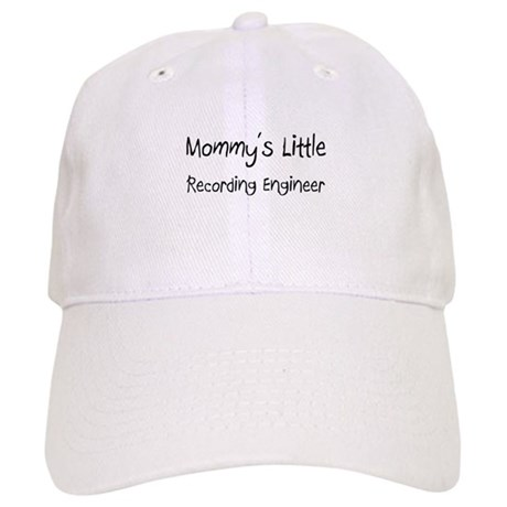 Mommy's Little Recording Engineer Cap