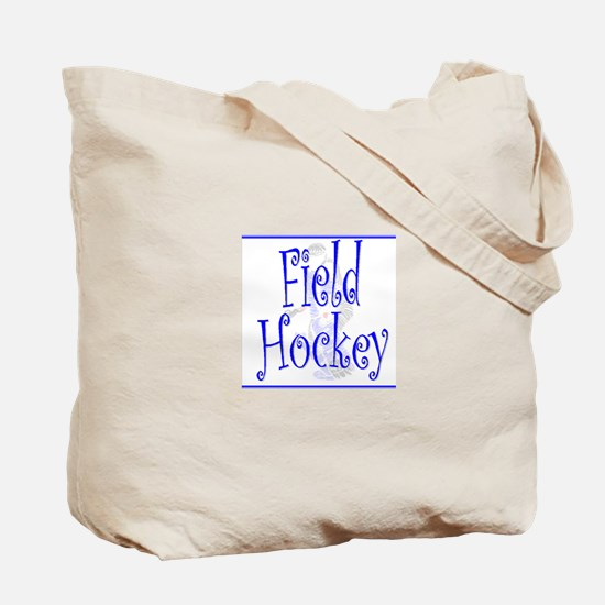 Field Hockey Goalie Tote Bag- Blue