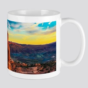 desert landscape grand canyon Mugs