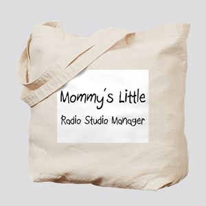 Mommy's Little Radio Studio Manager Tote Bag