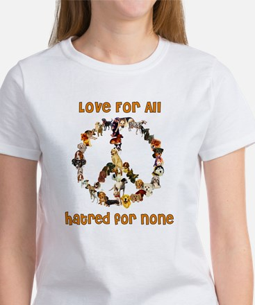 Dogs Of Peace Women's T-Shirt