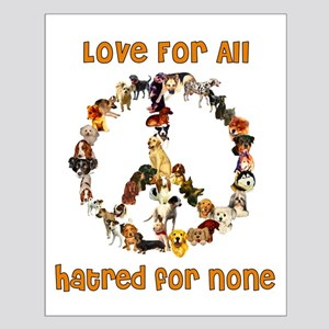 Dogs Of Peace Small Poster