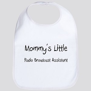 Mommy's Little Radio Broadcast Assistant Bib