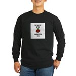 Bit By the Scrapbooking Bug Long Sleeve Dark T-Shi