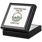 Scrapbookers - Work of Art Keepsake Box