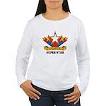 Scrapbook Superstar Women's Long Sleeve T-Shirt