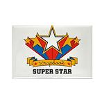 Scrapbook Superstar Rectangle Magnet (100 pack)