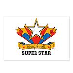 Scrapbook Superstar Postcards (Package of 8)