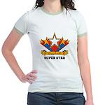 Scrapbook Superstar Jr. Ringer T-Shirt