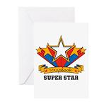 Scrapbook Superstar Greeting Cards (Pk of 10)