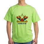 Scrapbook Superstar Green T-Shirt