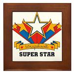 Scrapbook Superstar Framed Tile