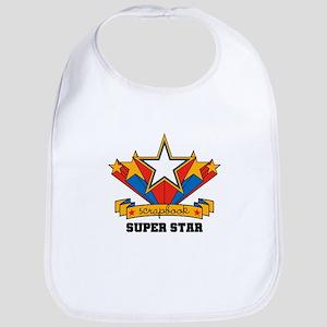 Scrapbook Superstar Bib