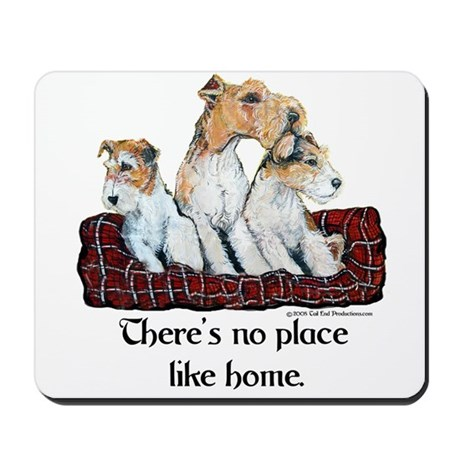 Wire Fox Terrier Home Mousepad