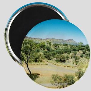 Alice Springs Landscape Round Magnet