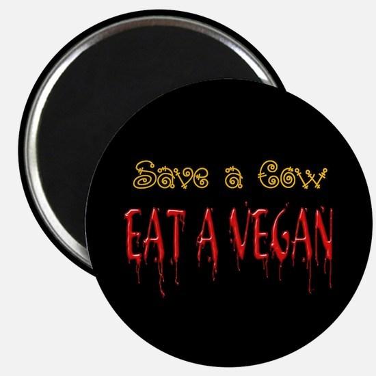 Eat a Vegan Magnet