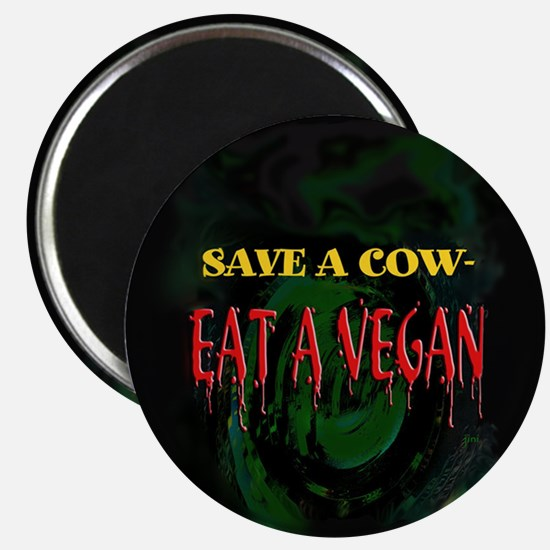 Save a Cow Magnet