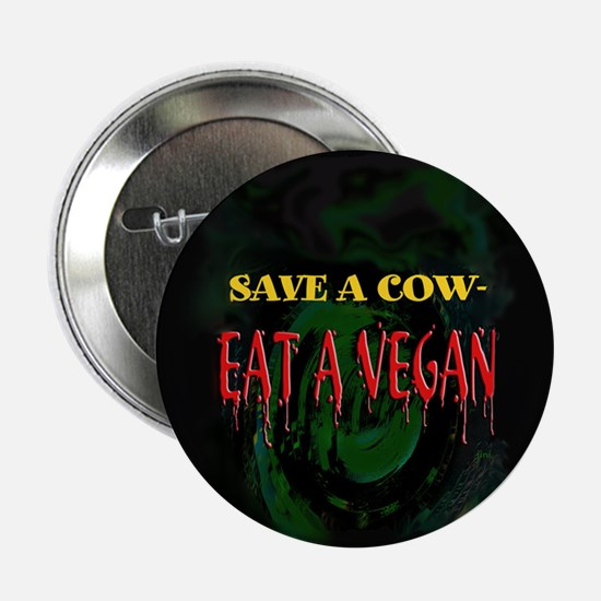 "2.25"" Save a Cow Button"