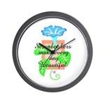 Scrapbookers - Make Days Beau Wall Clock