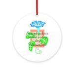 Scrapbookers - Make Days Beau Ornament (Round)