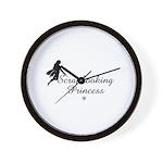 Scrapbooking Princess - Fairy Wall Clock