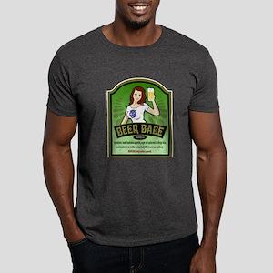Beer Babe Redhead Dark T-Shirt