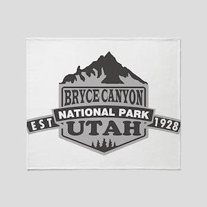 Bryce Canyon - Utah Throw Blanket