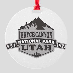 Bryce Canyon - Utah Round Ornament