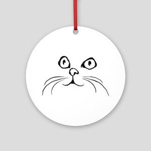 Kitty Face Keepsake (Round)