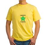 Scrapbook Superstar Yellow T-Shirt