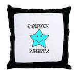 Scrapbook Superstar Throw Pillow