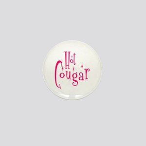 Hot Cougar Mini Button