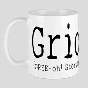 Griot for White Mugs