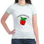Scrapbooking Mom Jr. Ringer T-Shirt