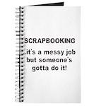 Scrapbooking - Messy Job - Di Journal