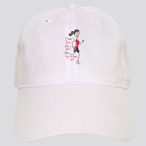 Run Like a Girl Baseball Cap