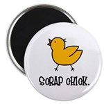 Scrap Chick - Scrapbooking Magnet