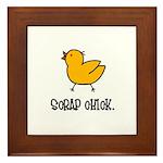 Scrap Chick - Scrapbooking Framed Tile