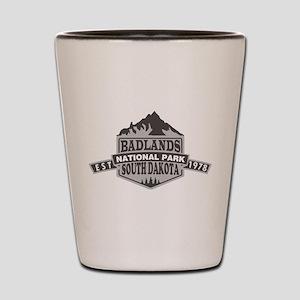 Badlands - South Dakota Shot Glass