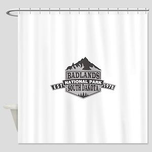 Badlands - South Dakota Shower Curtain