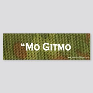 'Mo Gitmo bumper sticker