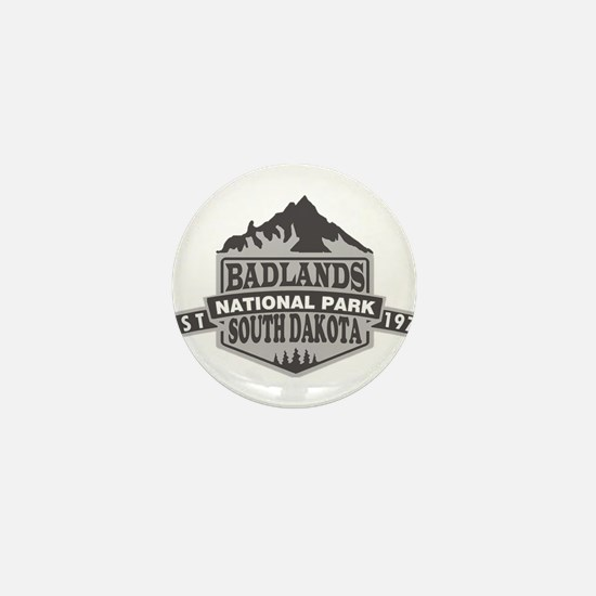 Badlands - South Dakota Mini Button