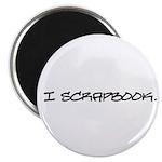 I Scrapbook Magnet