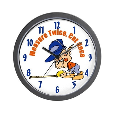 Carpenter Wall Clock