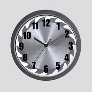 Circular Saw Wall Clock