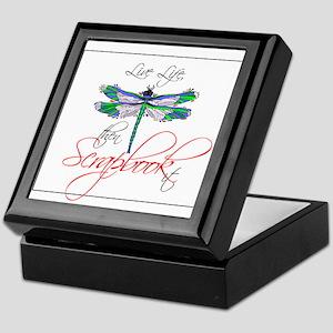 Live Life, Scrapbook It Keepsake Box